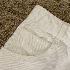 Brandy Melville Other - Brandy Melville White corduroy skirt